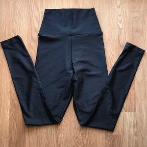 American Apparel black shimmer leggings
